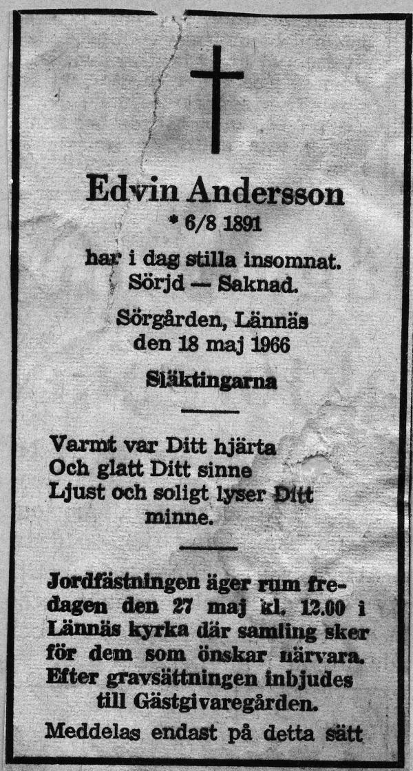 edvin andersson